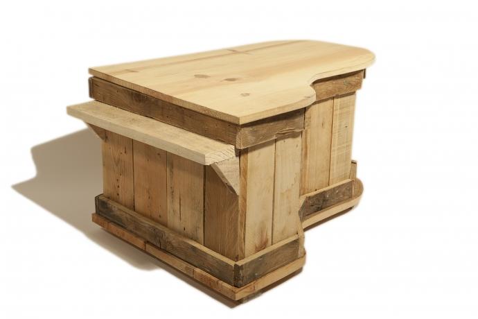 Muebles artesanales de madera affordable estante blonda - Muebles artesanales de madera ...